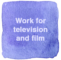 Television work as production artworker